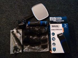 Wahl Cord/Cordless Hair Clipper with Mirror