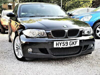 £30 Tax-- BMW 1 Series M Sport 116 d -- LEATHER -- CHEAP on DIESEL -HPi Clear -alike bmw 118 bmw 120