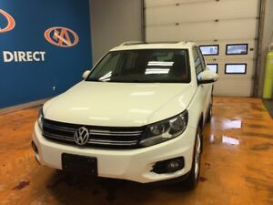 2014 Volkswagen Tiguan Highline HIGHLINE/ LEATHER/ AWD/ PANO...
