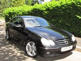 Mercedes-Benz CLK 3.0 CLK320 CDI Avantgarde 7G-Tronic 2dr F/S/H,Leather,Sat nav,Warranty