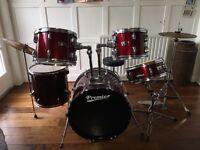 Premier Olympic Wrap Rock 22 Drum Kit
