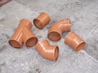ASSORTED UNDERGROUND PIPE JOINTS
