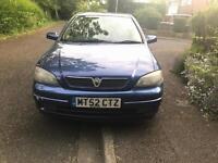 Vauxhall astra 1.6 sxi 10 months mot