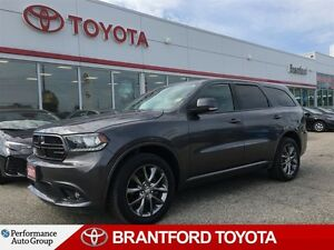 2017 Dodge Durango GT, Grey, Carproof Clean, Sunroof, Leather