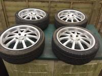 Ford escort,fiesta,focus,puma 17inch alloys,£100,no offers