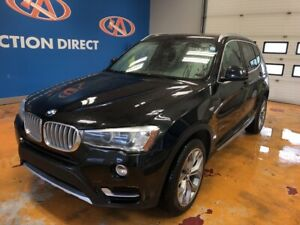 2016 BMW X3 xDrive35i NAVIGATION! AWD! V6! PANO SUNROOF!