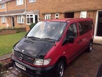 Mercedes Vito 6 Seater Van