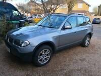 BMW X3 Auto Silver