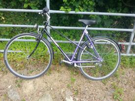 Schauff Ladies 18 Speed High Voltage Profistyle Bicycle West German Tourer 1980's