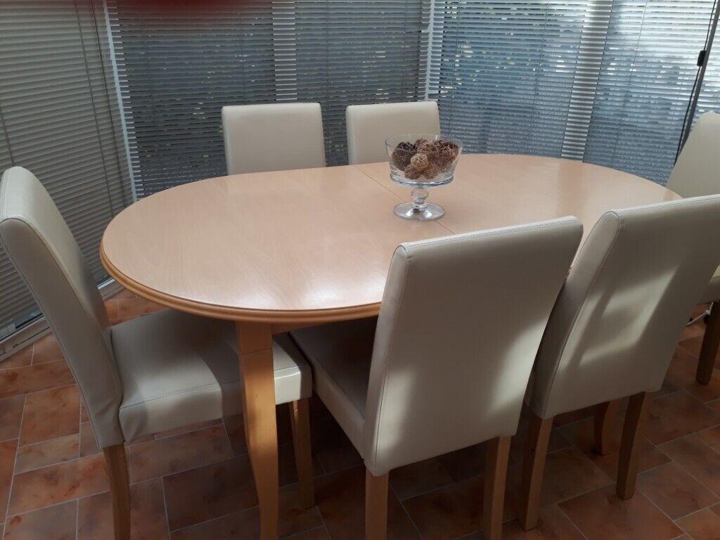 Astounding John Lewis Beech Wood Extending Dining Table No Chairs In Elgin Moray Gumtree Frankydiablos Diy Chair Ideas Frankydiabloscom