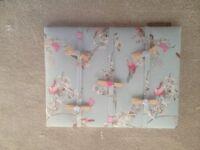 Birds Handmade Fabric Memo/message/pin/notice board/Photo board Gift bedroom