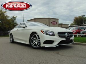 2016 Mercedes-Benz S550 4MTC COUPE-LOADED WITH OPT