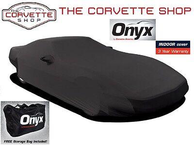 Corvette Onyx Car Cover C4 1984-1996 Lycra Spandex Indoor Lightweight 52264