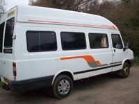 Camper Van 2003 2.4 ltr private conversion LDV 400 Convoy Diesel, LWB 80000 miles