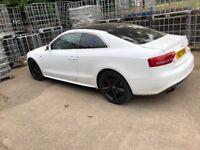 Audi A5 TFSI Quattro S Line Special Eddition. Non runner. Spares / repairs