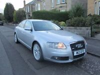 2007 Audi A6 2.0 TDI S Line - 6 speed Manual - Low Mileage - FSH - LONG MOT