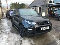 Land Rover Discovery Sport TD4 HSE LUXURY (black) 2016-03-01