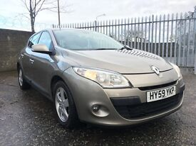 2009 Renault Megane 1.5 dCi Dynamique 5dr / Diesel / 3 Month RAC Warranty Included