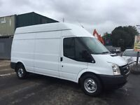 FORD TRANSIT T350 LWB HIGH TOP YEAR 2012 IN VGC IN AND OUT, FULL SERVICE HISTORY AND 1 ONWER ONLY
