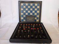 Battle of Waterloo Chess set