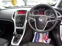 VAUXHALL ASTRA GTC 1.4 i Turbo 16v Turbo SRi 3dr (start/stop) (white) 2012