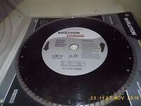Evolution EN 13236 Diamond Blade For Electric Disc Cutter