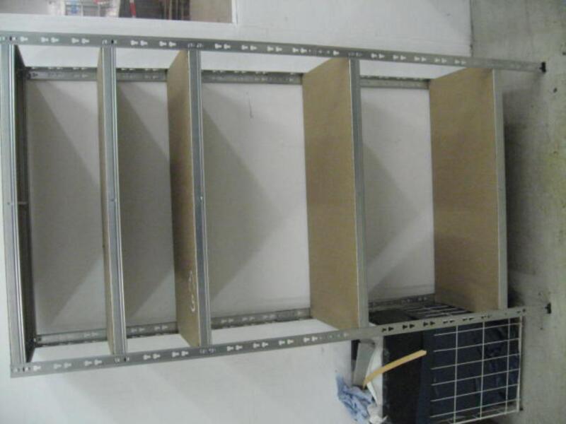 metallregal steckregal leicht in berlin treptow ebay kleinanzeigen. Black Bedroom Furniture Sets. Home Design Ideas