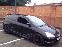 Honda Civic Type r Ep3 , Night hawk Black, Hpi Clear,Vxr,cupra r