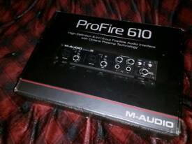 Professional audio interface for sale