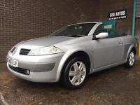 2006 RENAULT MEGANE CABRIOLET 1.6 WITH NEW MOT AND TWO KEYS!!!