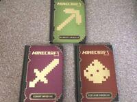 Minecraft Handbooks Beginner's, Combat & Redstone...£10