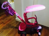 4 in 1 Childrens Smart Trike - Pink and Purple