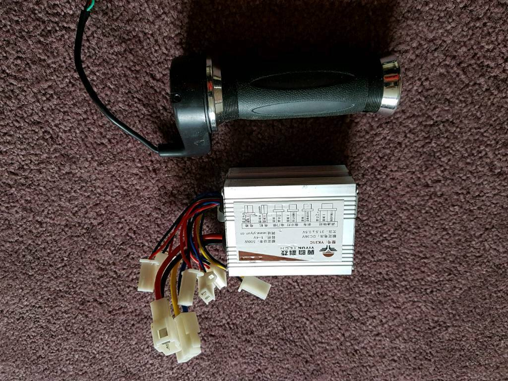 Electric Bike Conversion kit 36v 500w Controller and throttle