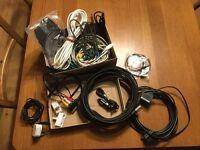 Bargain Job lot bundle of cables leads incl. Scart, USB, telephone