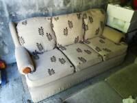 3 seater settee/sofa
