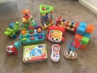 Bundle of baby/toddler toys