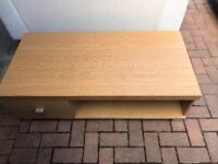 TV Unit Oak Effect 115cmx53cmx30cm