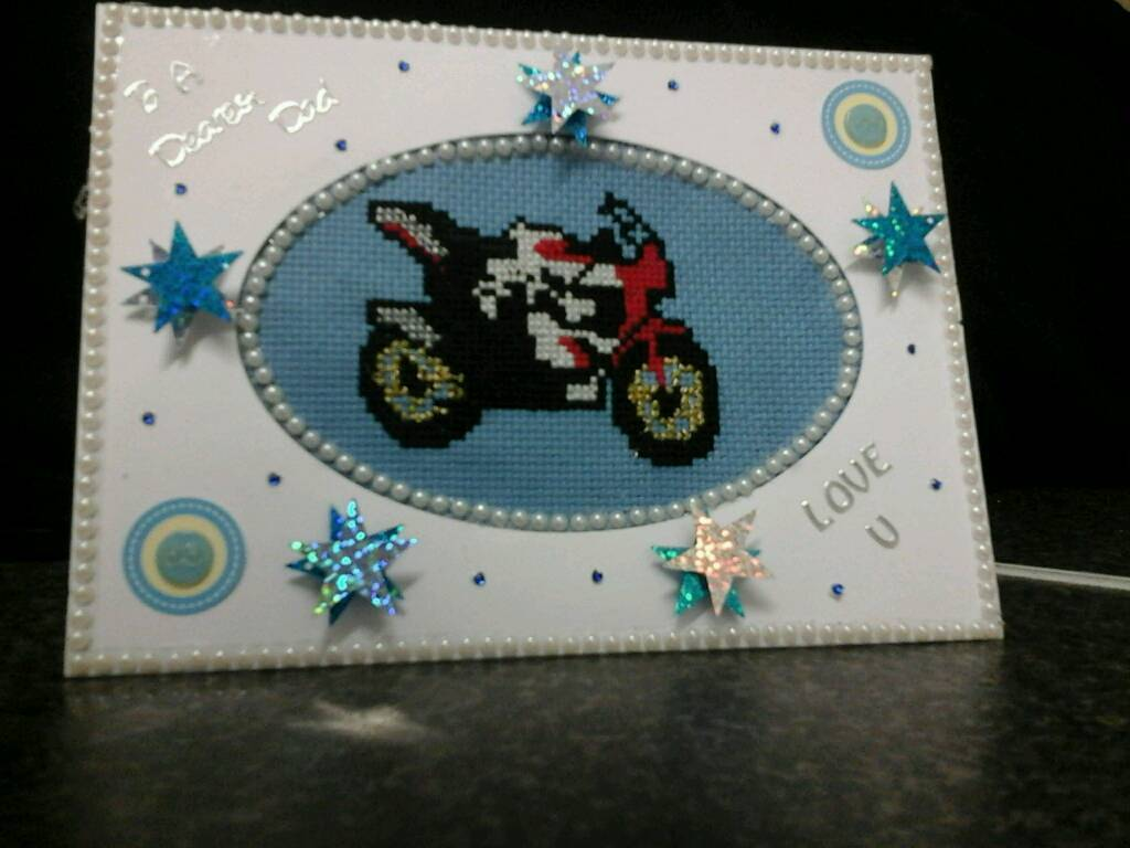 Hand made embroidered cards any design any occasion. ..