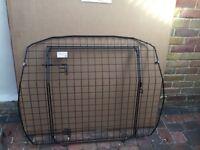 Barjo dog guard for Audi A4 estate door included