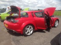 *LOW MILEAGE* Mazda RX-*, Red with gold fleck, Excellent Runner, 2 Keys,