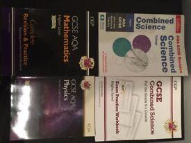 GCSC Combined Science preparation x4 books