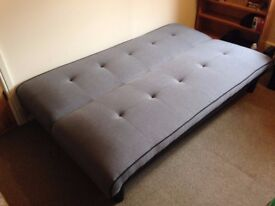 Sofa bed, Grey Frontier from Bensons for Beds