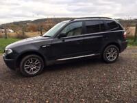 Black BMW X3 2 litre GTI