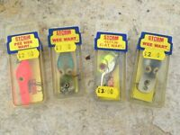 Fishing lures in original boxes