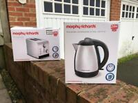 Morphy Richards Kettle and Toasted