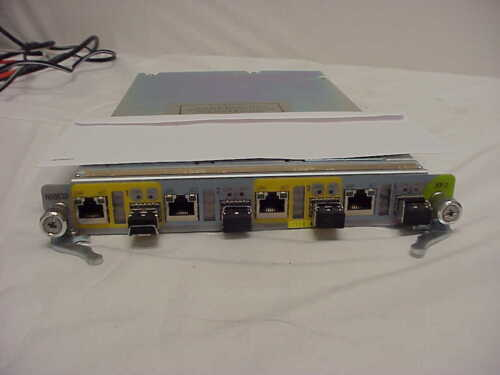 AGILENT N5553B NETWORK CARD WITH 4 LIGHT WAVE ADAPTERS INCLUDED