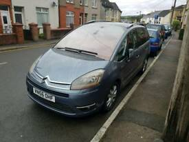 C4 Picasso excl 7 seater