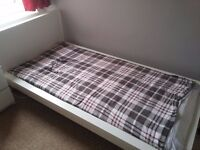 Single Bed IKEA with mattress