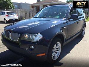 2008 BMW X3 3.0i,XDRIVE,TOIT PANO,TRES PROPRE,TOUJOURS BIEN EN