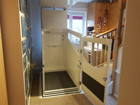 Through-the-Floor Lift - Terry. 3.5yrs old, regular service. Very reliable, immaculate condition